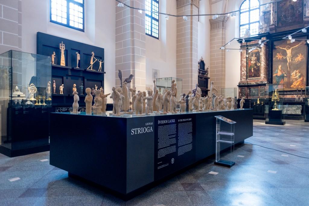 Paroda Bažnytinio paveldo muziejuje Vilniuje. 2015