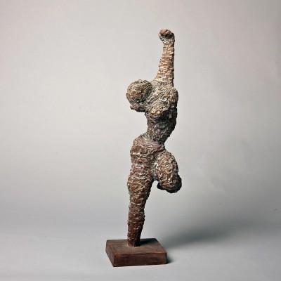 """2011m.-""""Aistringas-šokis'-dažytas-medis,-h45"""