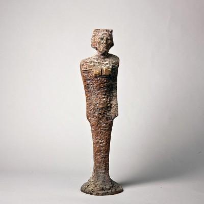 "2011m.-""Egiptietė'-dažytas-medis,-h49"